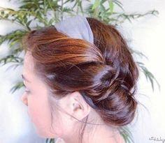 Hair Dos: Scarf Updo