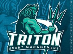 TRITON Event Management on Behance - American Logo Sport Theme