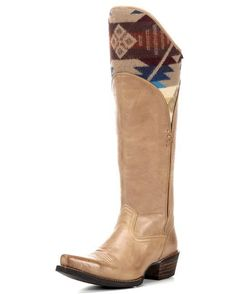 Ariat Women's Caldera Boot - Tawny / Pendleton  http://www.countryoutfitter.com/products/54421-womens-caldera-boot-tawny-pendleton