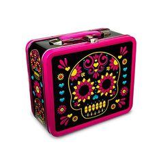 (Calavera) Sugar Skull Lunch Box
