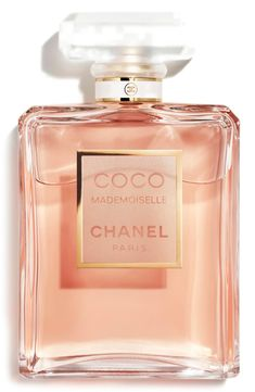 Free shipping and returns on CHANEL COCO MADEMOISELLE Eau De Parfum Spray at Nordstrom.com. Sexy, fresh oriental fragrance recalls the irrepressible spirit of the young Coco Chanel. An elegant, luxurious spray closest in strength and character to the parfum form. The classic signature bottle is perfect for the dressing table or for travelling. Spray lightly morning and evening on pulse points at the throat and wrist.Notes: bergamot, orange, jasmine, rose, patchouli, vetiver, white musks, ...