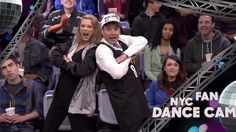 Watch Taylor Swift and Jimmy Fallon Shake Their Stuff On NYC Jumbotrons #InStyle