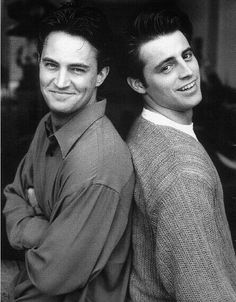 The friendship unbroken. |Joey and Chandler