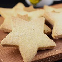 Simple Vegan Shortbread Biscuits