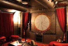 Steampunk lounge-Cap'n Nemo theme maybe - The chambered nautilus!