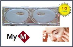 MyM® Collagen Crystal Eyes Mask Full Covered for Lift, Firm, Anti-wrinkle, Dark Circle and Eyes Bag. *** Awesome product. Click the image : Eye Care