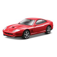 Bburago Ferrari Series Race and Play 1:43 Scale Ferrari Die-Cast Car- Red 550 Maranello $9.99  #Sale