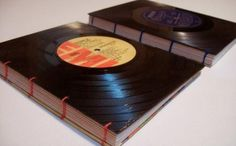 Convert the vinyl in notebooks.