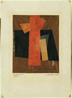 Kurt Schwitters, Drawing A2: Hansi 1918