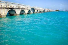 The old seven mile bridge...Marathon Key... Florida Girl, Florida Living, Florida Vacation, Vacation Spots, Key West Florida, Florida Keys, Florida Beaches, Fl Keys, Key West Vacations