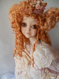 """Коллекционные куклы ручной работы. Ярмарка Мастеров - ручная работа. Купить Кукла """"Шарлотта"""". Handmade. Бледно-розовый"""