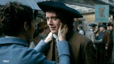 Claire Fraser (Caitriona Balfe) and Fergus (César Domboy) in Outlander 3.06 'A. Malcolm'