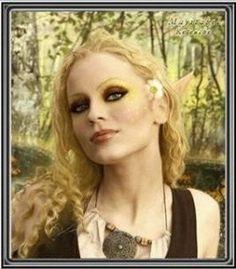 autumn fairy makeup