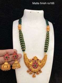 Temple jewellery available at Ankh Jewels for booking WhatsApp on 1 Gram Gold Jewellery, Temple Jewellery, Gold Jewelry, Beaded Necklace, Necklaces, Jewelry Patterns, Indian Jewelry, Wedding Jewelry, Jewelry Collection