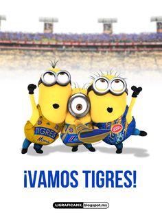#LigraficaMX #Soccer #Minions @cheryl ng ng Blondin TIGRES