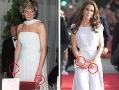 Kate e Diana a confronto: il mito continua