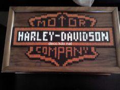 Harley-Davidson perles hama par DECO.KDO.NAT