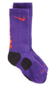 Nike 'Elite Basketball' Crew Socks (Little Kid & Big Kid)