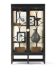 """Hickory White 650-43 Skyloft bunching china.  46.5""""W X 19.25""""D X 82"""" H.  All custom finishes including two tone.  Put two together.  Dining room."""