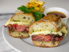 Is this on the menu in the Nordstrom Cafe? Prime rip french dip sandwich with au ju recip from Nordstrom.
