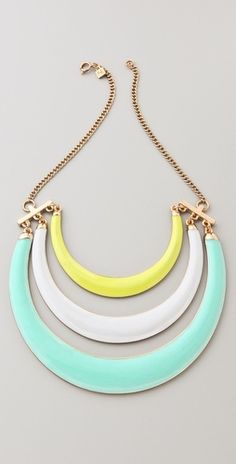 Love this statement necklace - shopbop.com