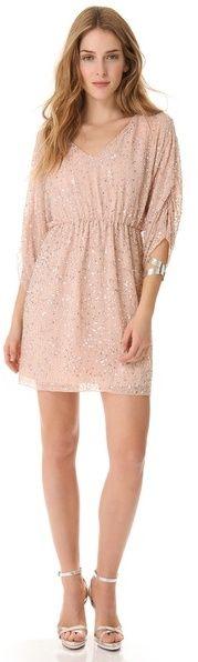 (Was $596.0) $357.6  Alice + olivia Embellished Tunic Dress