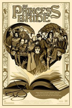 THE FIRE WIRE Exclusive Reveal of The Princess Bride Commissioned Poster By Phillip Ellering