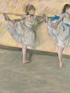 Works on paper that shook the art market Edgar Degas, Museum Exhibition, Art Museum, Ballerine Degas, Barre, Degas Paintings, Impressionist Artists, Wassily Kandinsky, Art Market