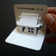 Tiny house with a 'clever' integrated sloping roof mechanism.