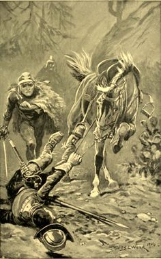 Roger the Bold- A Tale of the Conquest of Mexico by F. S. Brereton (illustration)