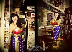 Pin Up Wonder Woman