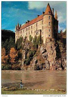 Château de Lavoûte-Polignac, Haute-Loire, Auvergne, France