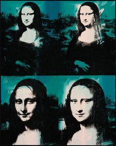 Andy Warhol American, 1928-1987, Four Mona Lisas                                                                                                                                                      More