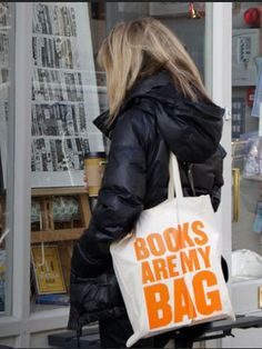Books Are My Bag tote. Douglas if you buy something from Waterstones as of  today you can ask for a free Books Are My Bag bag! Not sure how many there  are ... d3cbc33fa2171