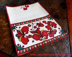 Sunstone Folk Art: Permogor - пермогорская роспись (Открытка)