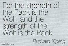 rudyard kipling wolf quote