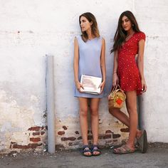 @Jamie Wise Wise Wise Baird in the ambrosia dress and our lady forever @crittycat00 in the rose dress.