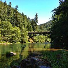 North Unmpqua River, Oregon