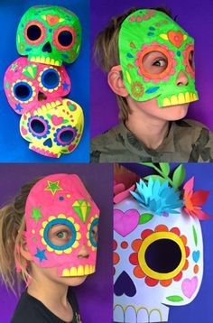 1000 images about day of the dead dia de los muertos for Day of the dead craft supplies