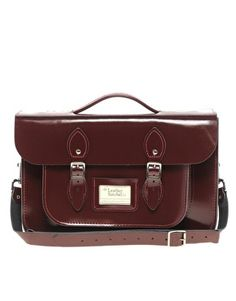 Agrandir The Leather Satchel Company - Cartable 14 pouces