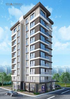 Modern Residential Architecture, Architecture Building Design, Concept Architecture, Facade Design, Arch Building, Building Exterior, Building Facade, Building Structure, Minecraft City Buildings