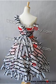 "Tim Burton Alice In Wonderland Alice Red Court ""Um"" Dress Costume-1"