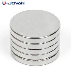 10Pcs  N30 20mm x 2mm Round Disc Rare Earth Neodymium Super Strong Fridge Magnet