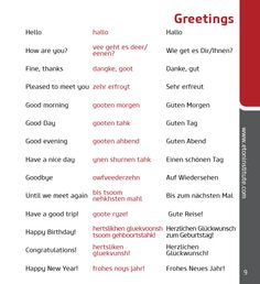 Learn basic German phrases and greetings with Eton Institute's phrasebooks. #language