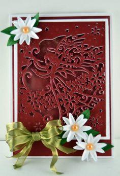Die'sire Create-A-Card Christmas Dies - Christmas Angel
