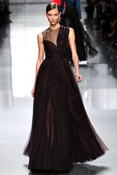 Karlie Kloss au défilé Christian Dior automne-hiver 2012-2013