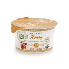 21 Seriously Delicious Whole Foods Snacks Under $5 #refinery29  http://www.refinery29.com/2016/04/107911/cheap-whole-foods-products#slide-13  Whole Foods Market Organic Nonfat Greek Yogurt, $1.49You can get Whole Foods brand organic Greek yogurt in pomegranate and blueberry, date and fig, honey, and strawberry flavors....