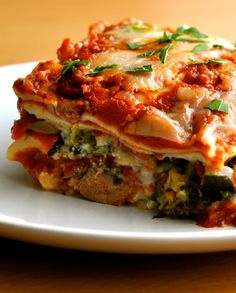 Gluten Free and Low FODMAP Recipe - Roasted vegetable lasagne