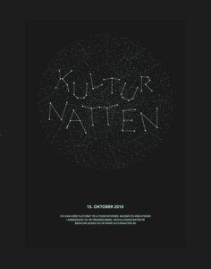 Kulturnatten 2010 (Culture Night) by Thomas Braestrup on Behance