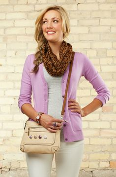 Stop in to see the new Leather crossbody Gingersnap handbag - New for Spring 2014 - Other styles available